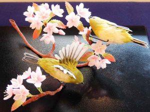 亀屋良長「春遊」