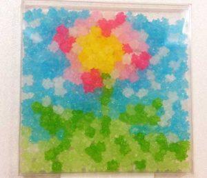 5歳の子が作った「お花」
